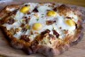 Adam's Breakfast Pizza