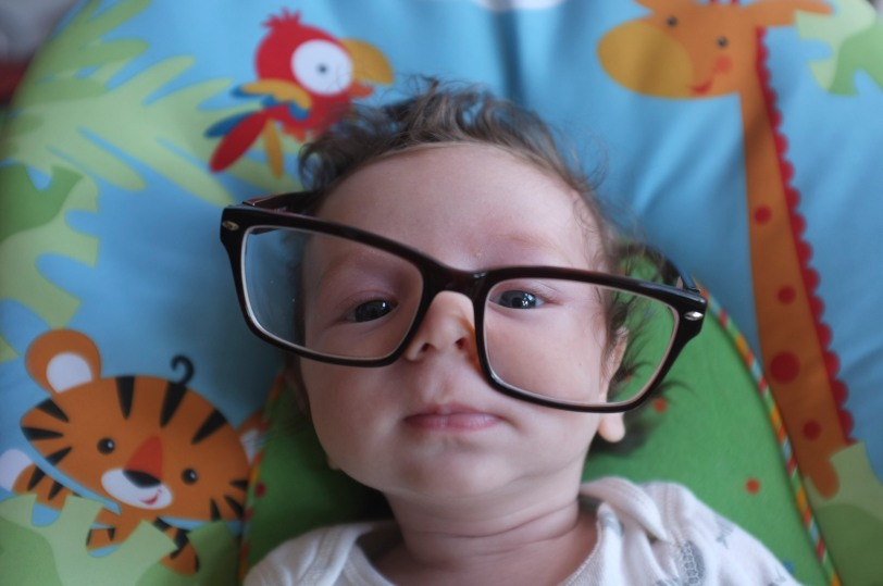 theo in daddys glasses-1