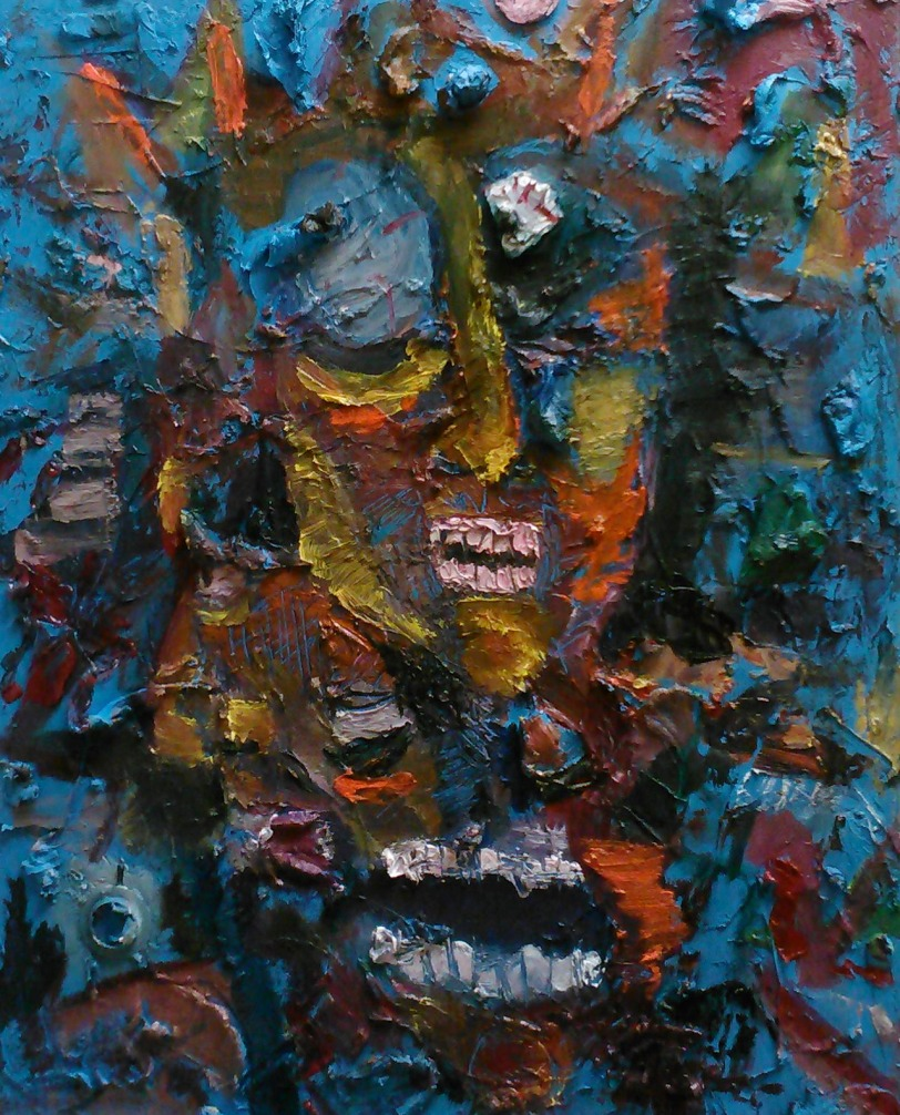 3ft x 4ft Oil paint 2012 by Adam Tarakhan